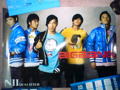 Big Bang- NII Qualified Doublesided Poster