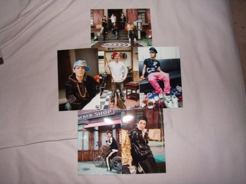 Big Bang- How Gee Photo Set