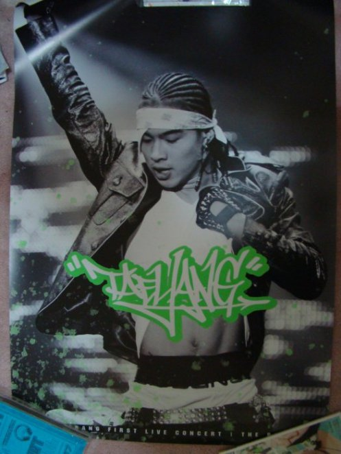 Big Bang- Taeyang The Real Poster