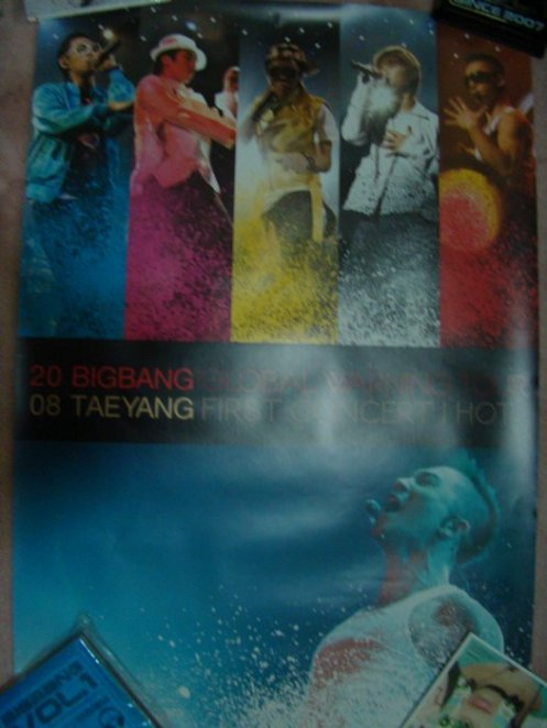 Big Bang- Global Warning DVD Poster
