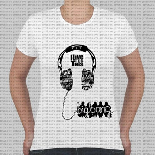 Big Bang- Headphone Tshirt